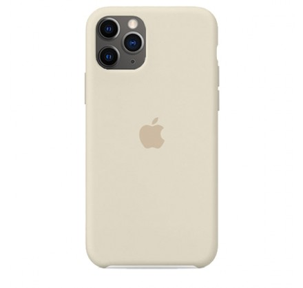 Чехол Silicone Case iPhone 11 Pro Max бежевый