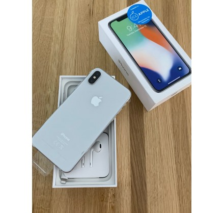 iPhone X 64gb Silver (новый)
