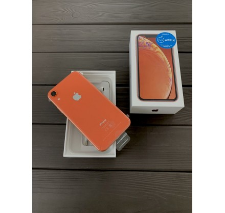 iPhone XR 128gb Coral (новый)