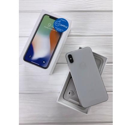 iPhone X 64gb Silver (новый)