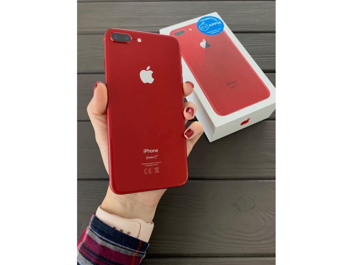 iPhone 8 Plus 64Gb Red в Тюмени
