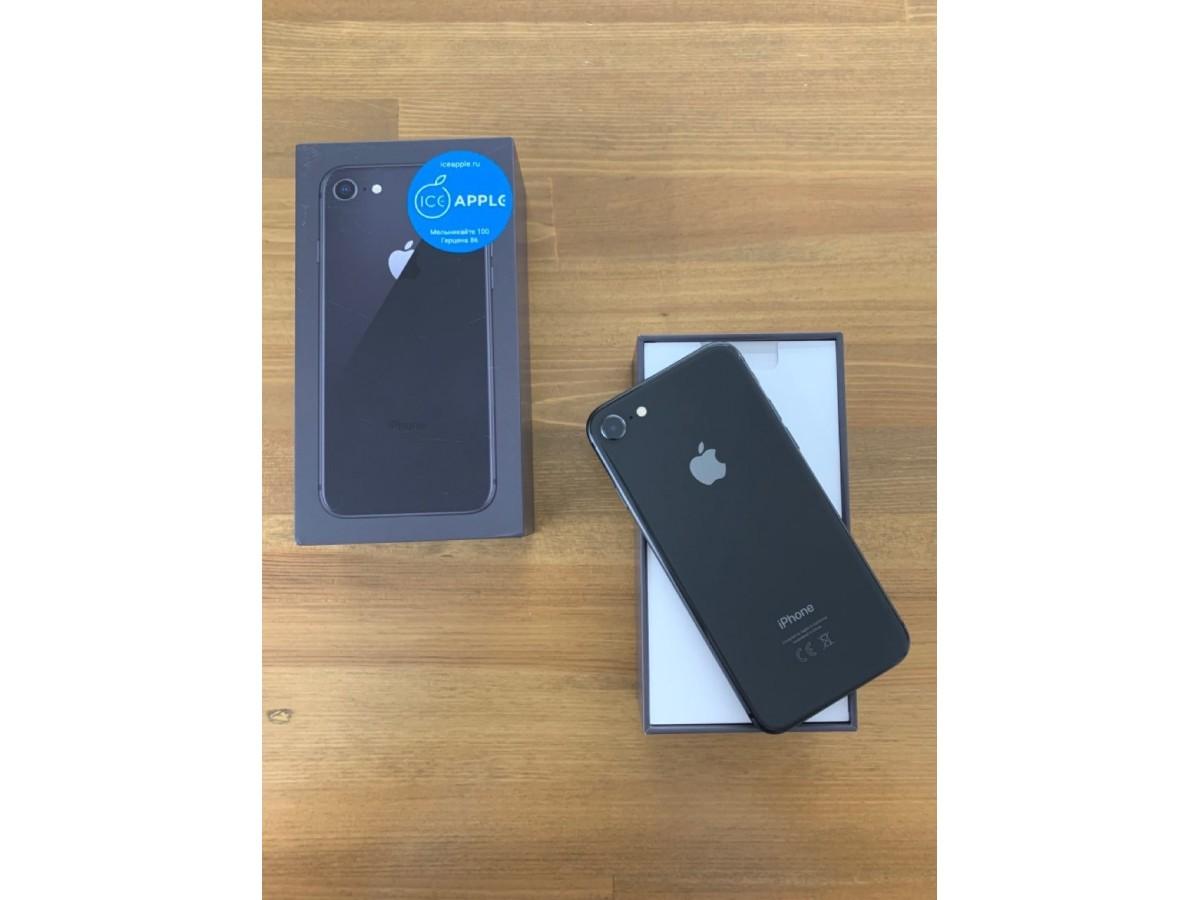 iPhone 8 64gb Space Gray в Тюмени