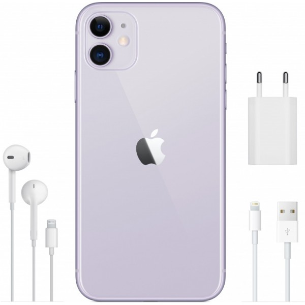 Apple iPhone 11 64GB DUAL SIM (фиолетовый)