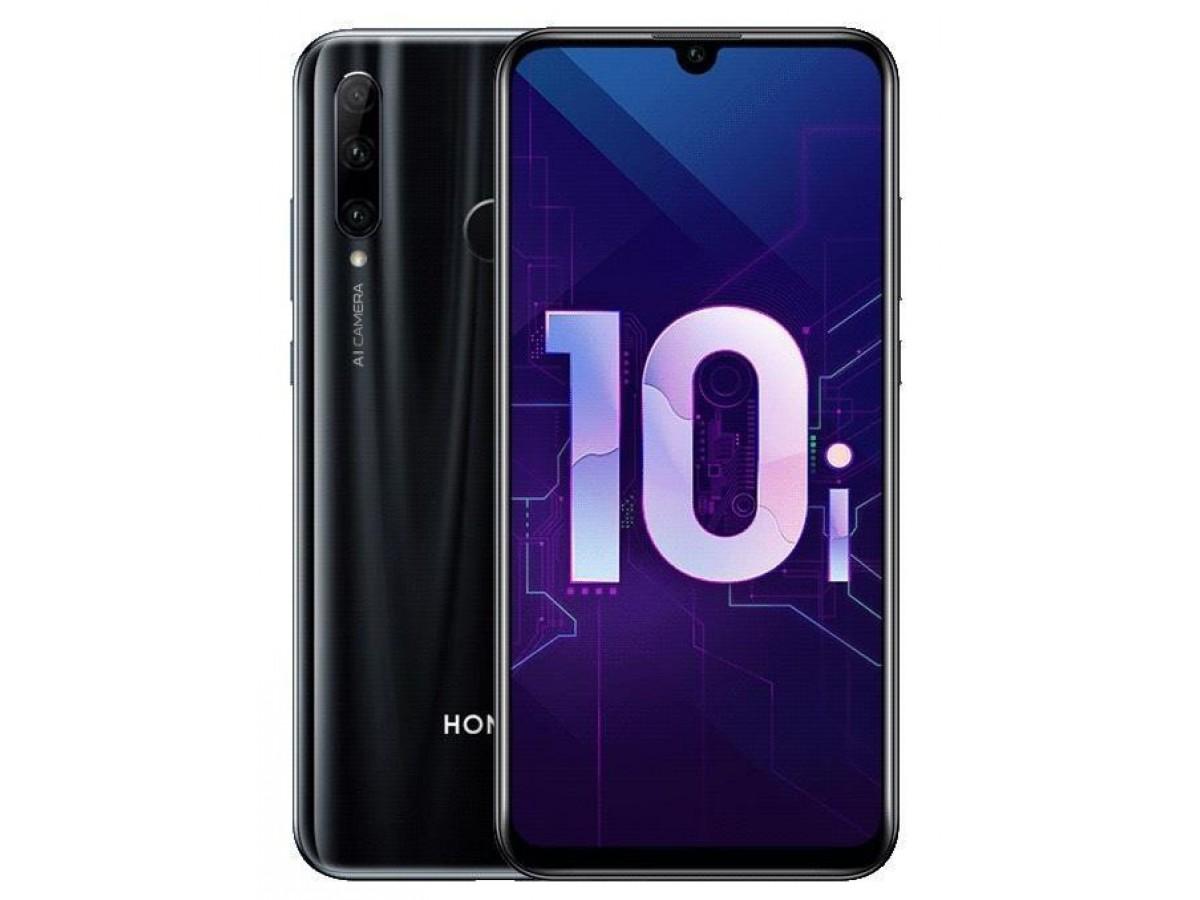 Honor 10i 128GB Полночный черный в Тюмени