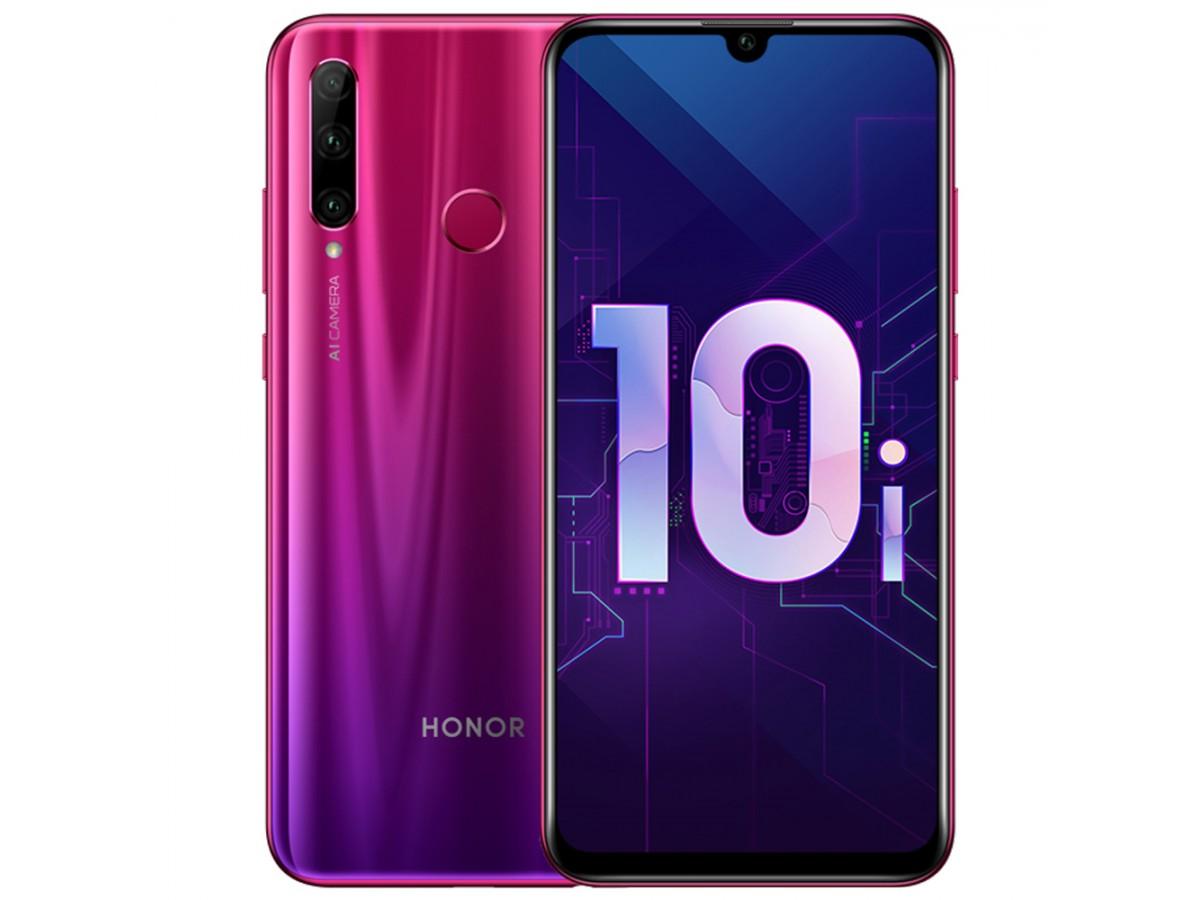 Honor 10i 128GB Мерцающий красный в Тюмени