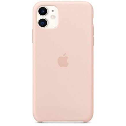 Чехол Silicone Case для iPhone 11 светло-розовый