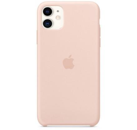 Чехол Silicone Case iPhone 11 светло-розовый (c)