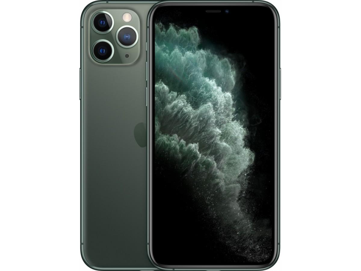 Apple iPhone 11 Pro 512GB (темно-зеленый) в Тюмени