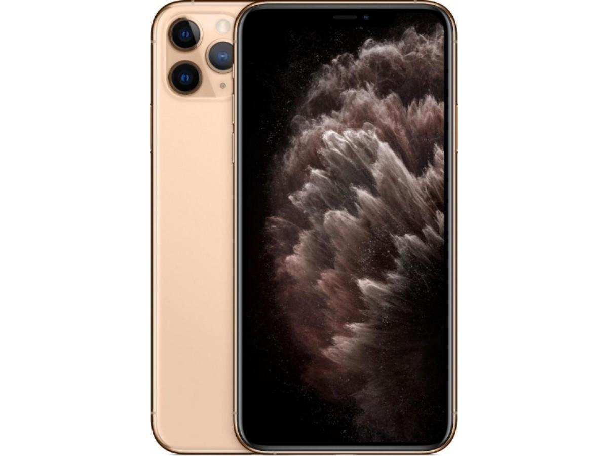 Apple iPhone 11 Pro Max 512GB (золотой) в Тюмени