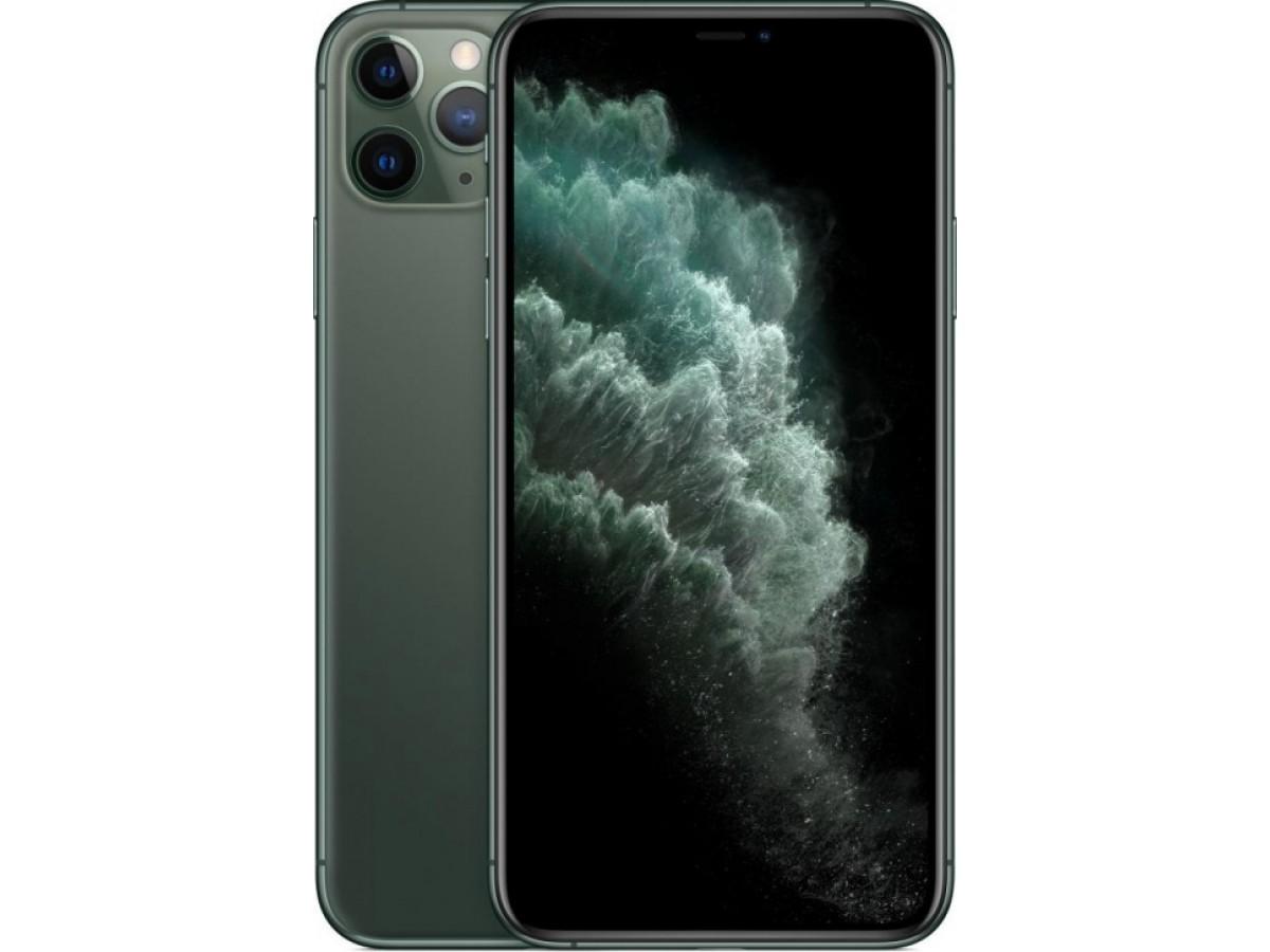 Apple iPhone 11 Pro Max 256GB (темно-зеленый) в Тюмени