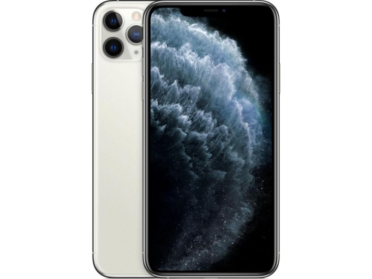 Apple iPhone 11 Pro Max 64GB (серебристый) в Тюмени