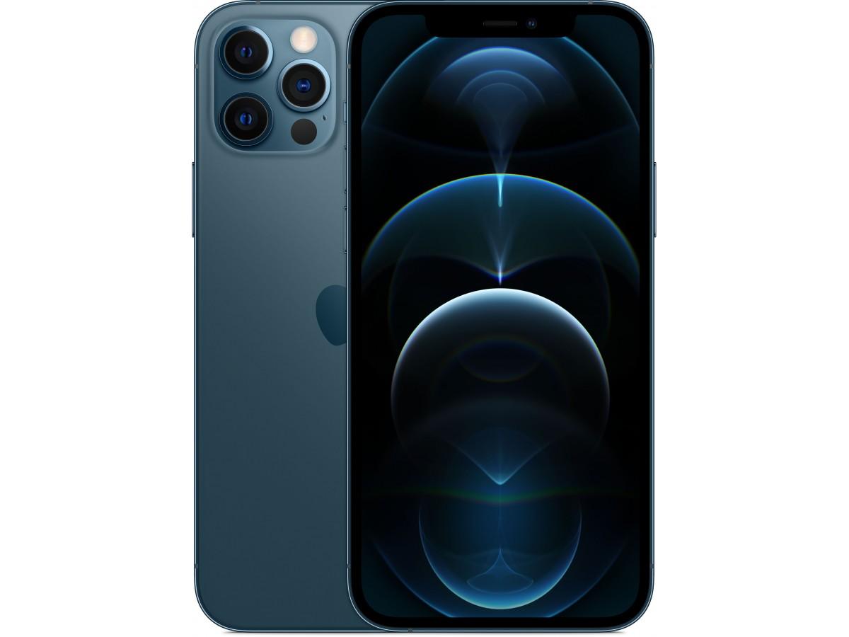 Apple iPhone 12 Pro Max 256GB (тихоокеанский синий) в Тюмени