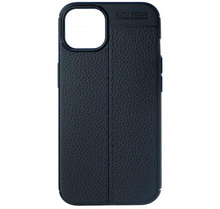 Чехол Black Line для iPhone 13 силиконовый черный