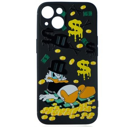 Чехол Fashn Donald для iPhone 13 с принтом силиконовый