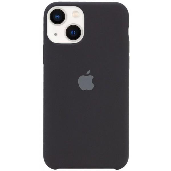 Чехол Silicone Case для iPhone 13 черный