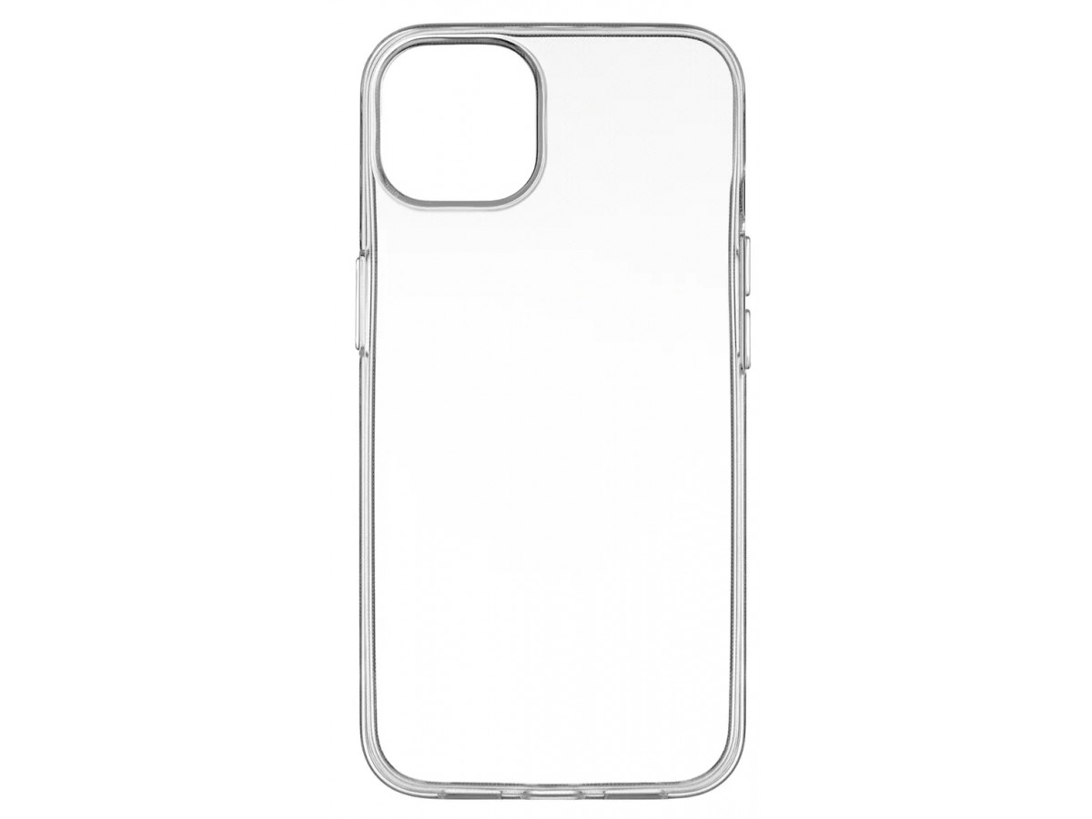 Чехол прозрачный для iPhone 13 силиконовый в Тюмени