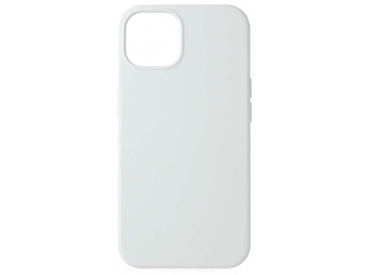 Чехол Silicone Case для iPhone 13 без лого белый в Тюмени