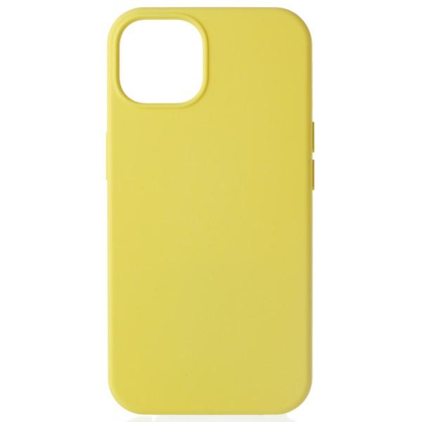 Чехол Silicone Case для iPhone 13 без лого желтый