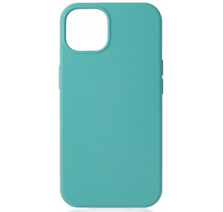 Чехол Silicone Case для iPhone 13 без лого бирюзовый