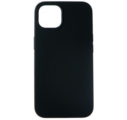 Чехол Silicone Case для iPhone 13 без лого черный