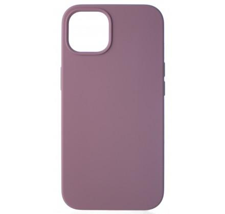 Чехол Silicone Case для iPhone 13 без лого черничный