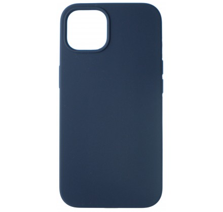 Чехол Silicone Case для iPhone 13 без лого темно-синий