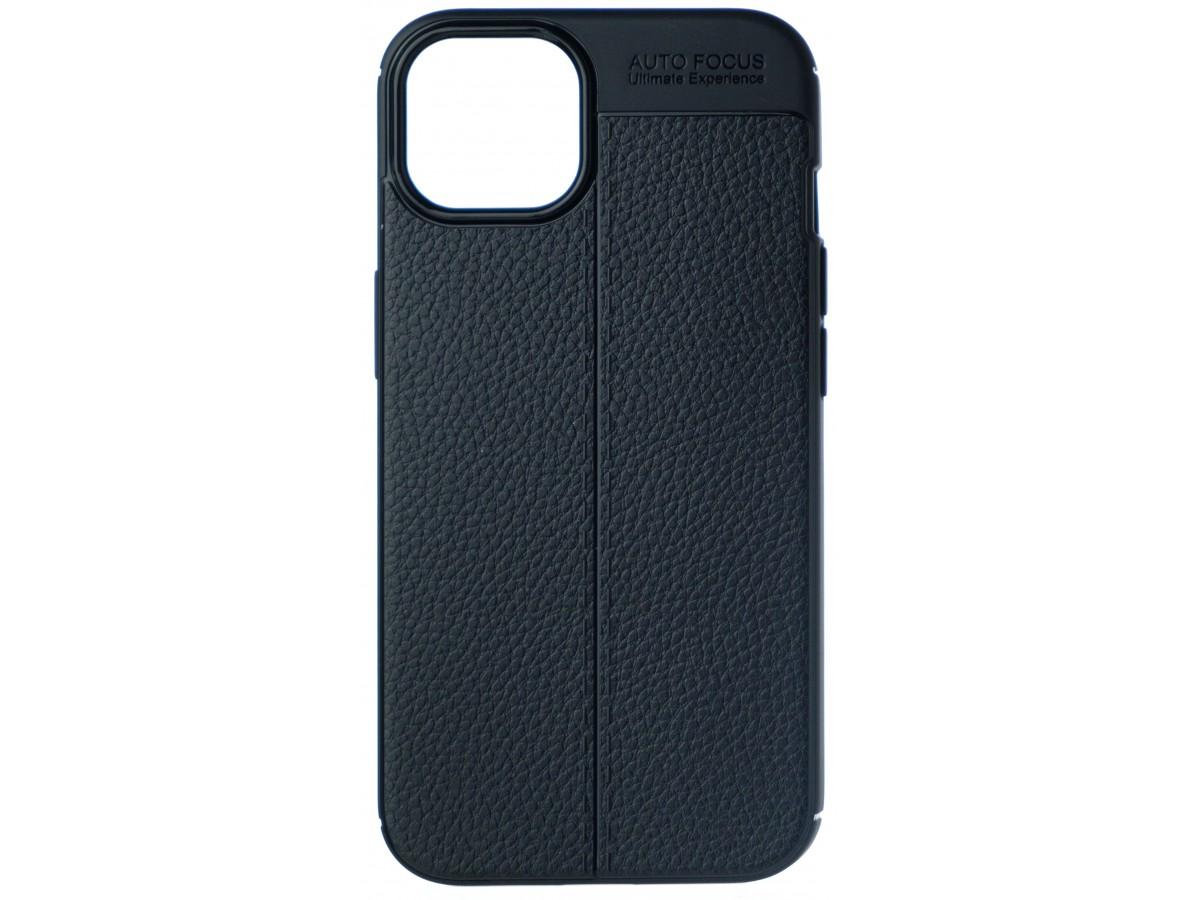 Чехол Black Line для iPhone 13 mini силиконовый черный в Тюмени
