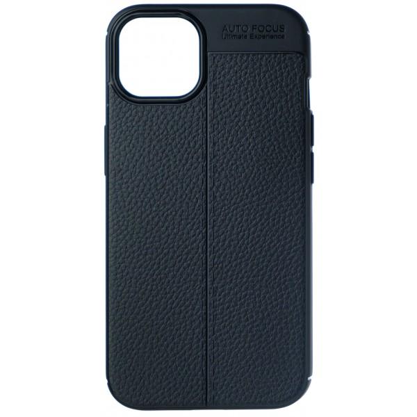 Чехол Black Line для iPhone 13 mini силиконовый черный