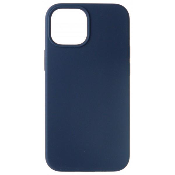 Чехол Silicone Case для iPhone 13 mini без лого темно-синий