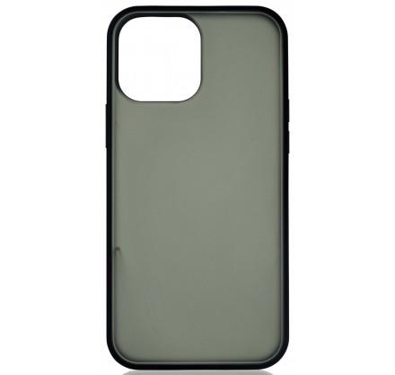 Чехол матовый с бампером для iPhone 13 Pro Max чёрный