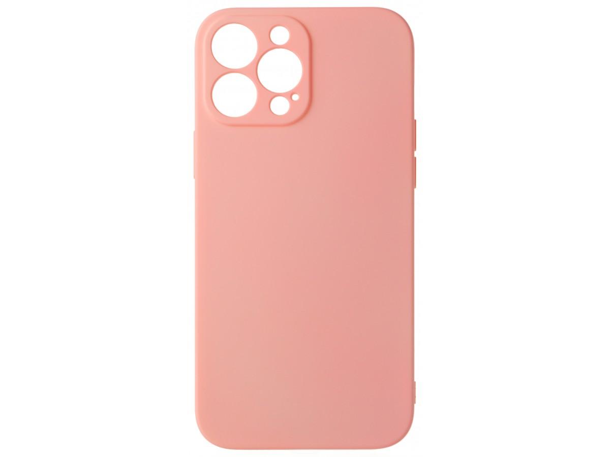 Чехол Soft-Touch для iPhone 13 Pro Max светло-розовый в Тюмени