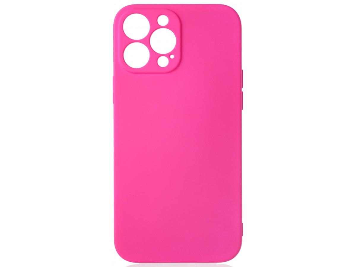 Чехол Soft-Touch для iPhone 13 Pro Max темно-розовый в Тюмени