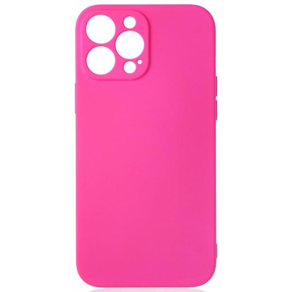 Чехол Soft-Touch для iPhone 13 Pro Max темно-розовый
