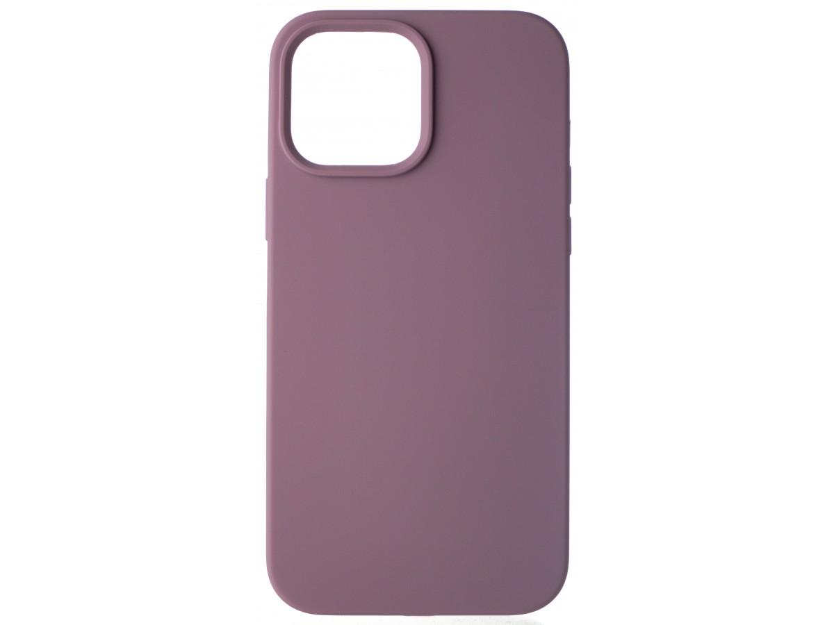 Чехол Silicone Case для iPhone 13 Pro Max без лого черничный в Тюмени