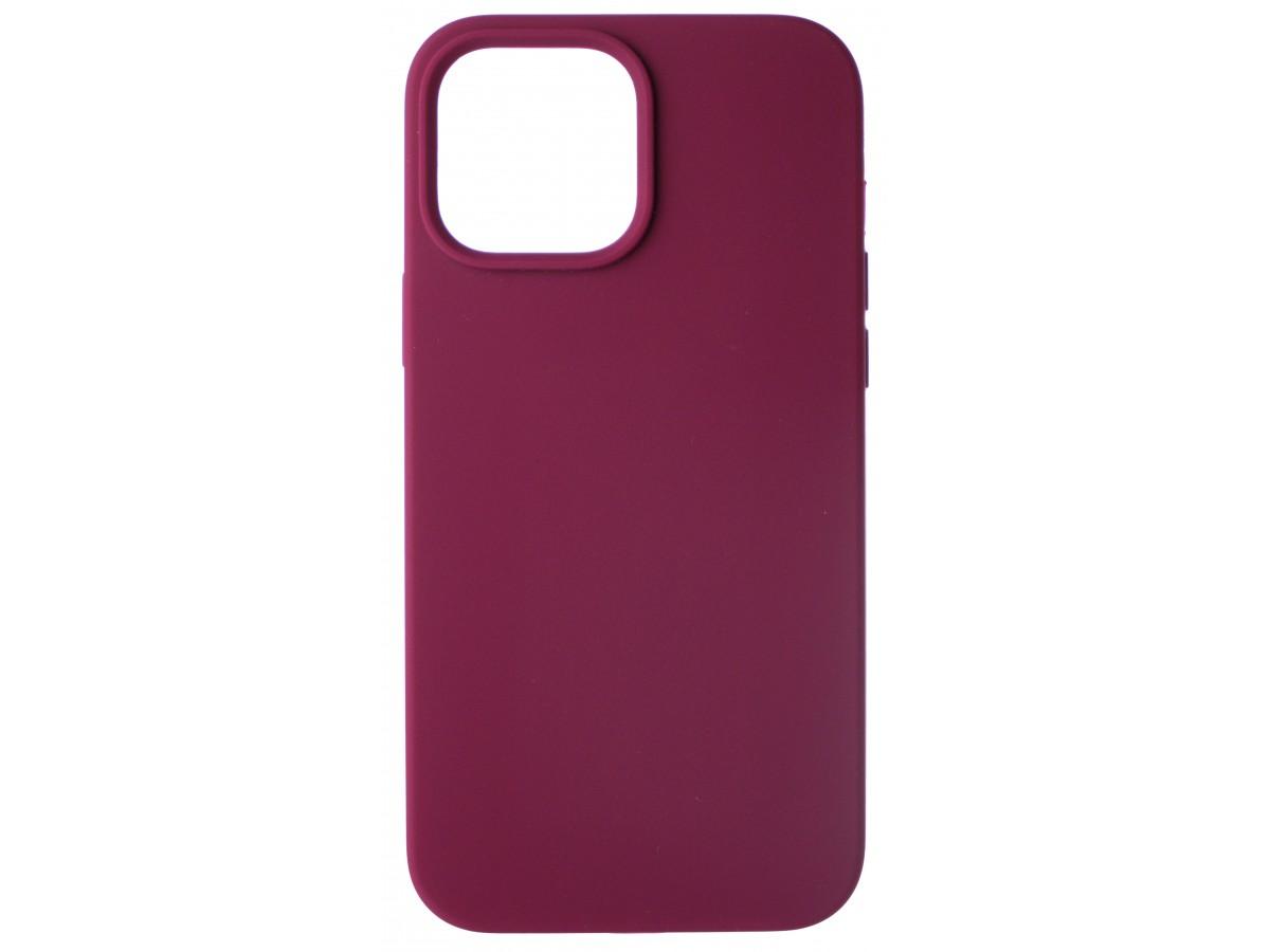 Чехол Silicone Case для iPhone 13 Pro Max без лого марсала в Тюмени