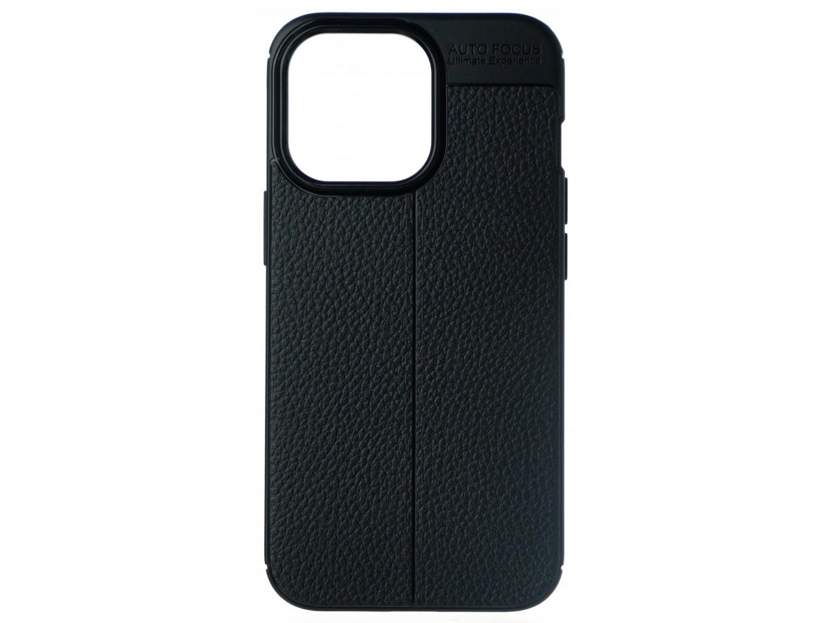 Чехол Black Line для iPhone 13 Pro силиконовый черный в Тюмени