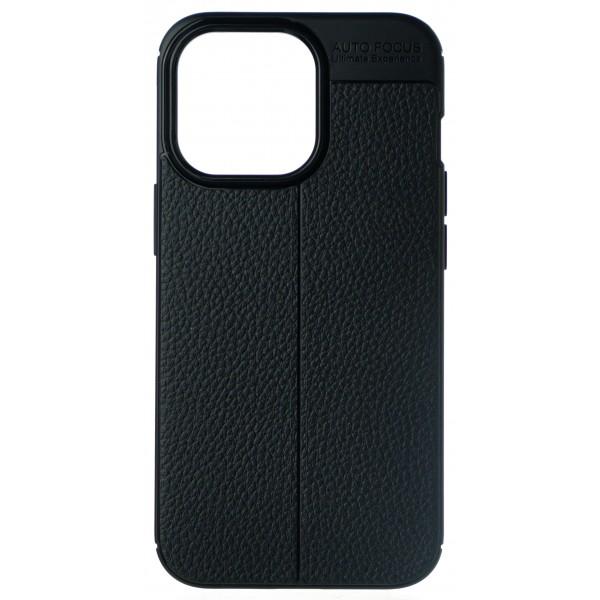 Чехол Black Line для iPhone 13 Pro силиконовый черный