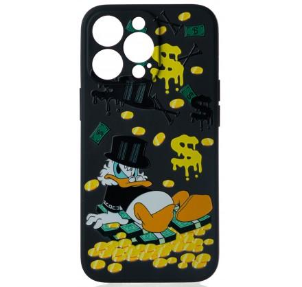 Чехол Fashn Donald для iPhone 13 Pro с принтом силиконо...