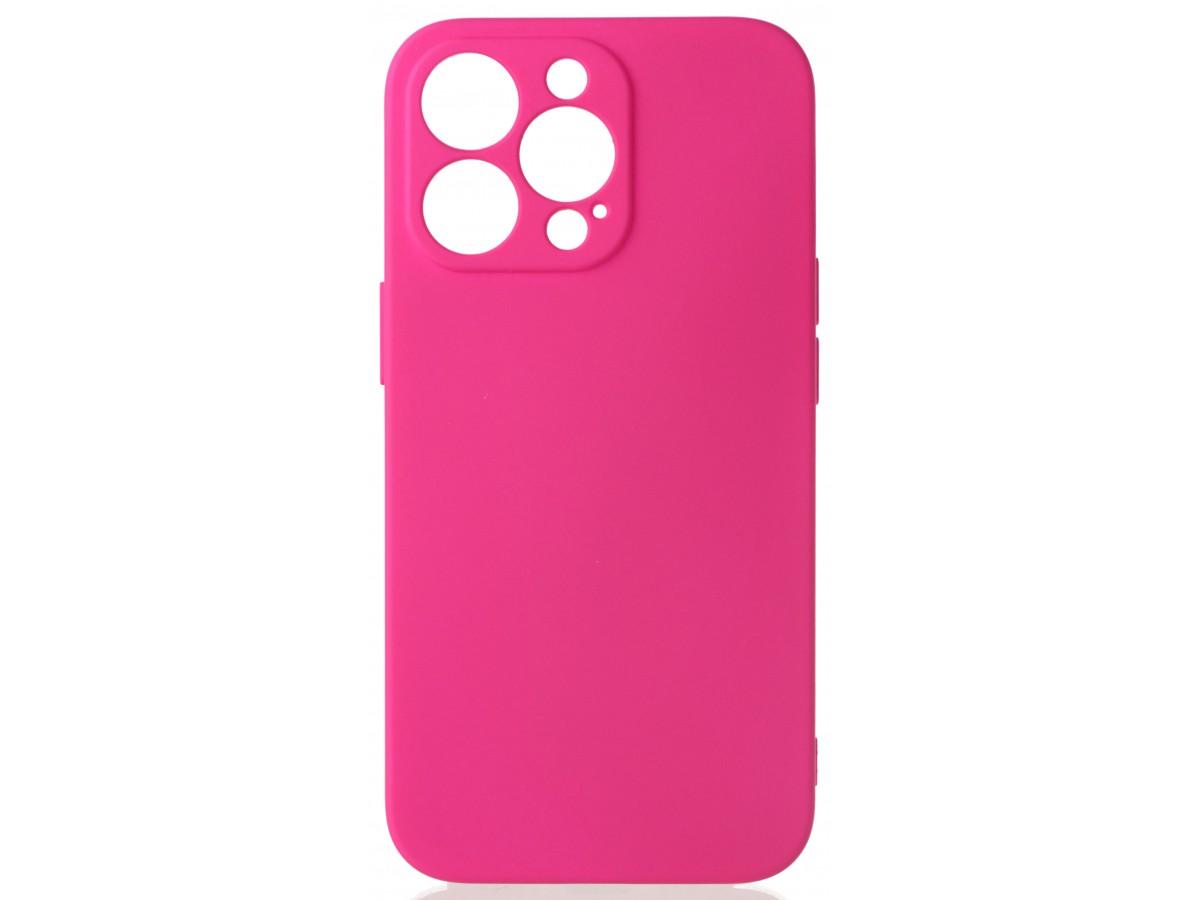 Чехол Soft-Touch для iPhone 13 Pro темно-розовый в Тюмени