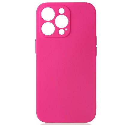 Чехол Soft-Touch для iPhone 13 Pro темно-розовый