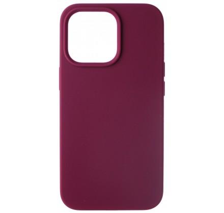 Чехол Silicone Case для iPhone 13 Pro без лого марсала