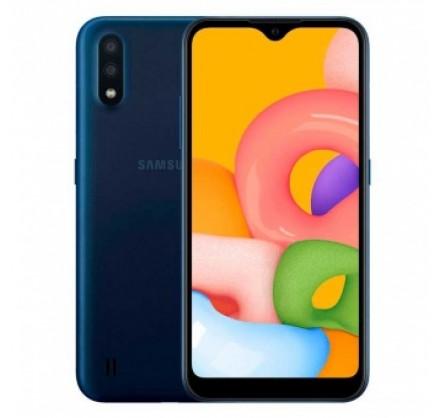Samsung Galaxy A01 16 GB  (синий)