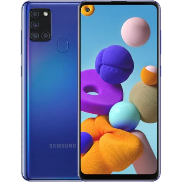 Samsung Galaxy A21s 32 GB (синий)