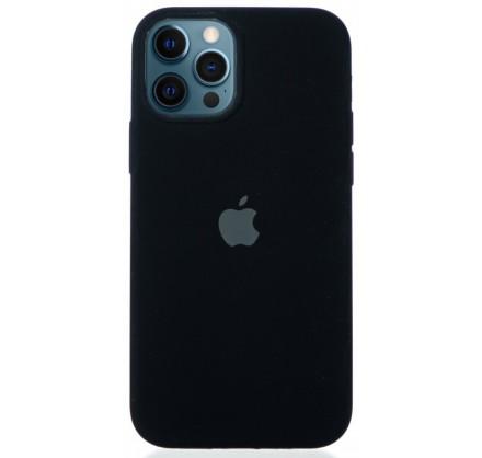 Чехол Silicone Case для iPhone 12/12 Pro черный