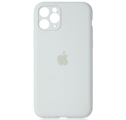 Чехол Silicone Case полная защита для iPhone 11 Pro бел...