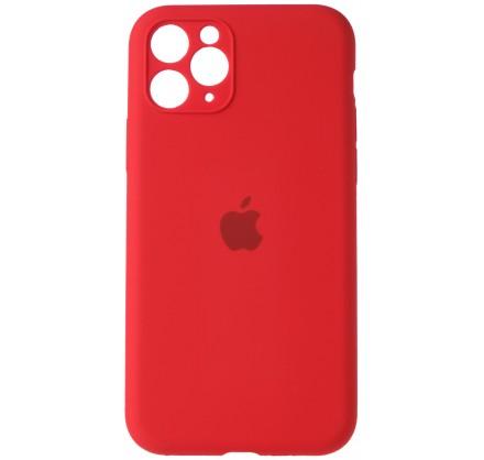 Чехол Silicone Case (С) 360 iPhone 11 Pro Max красный