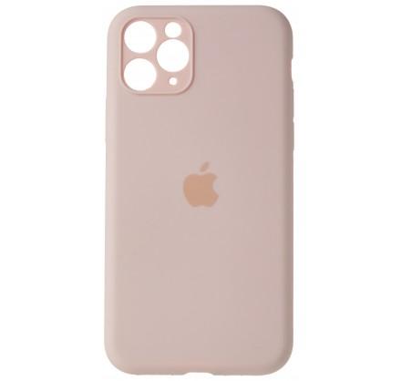 Чехол Silicone Case (С) 360 iPhone 11 Pro Max розовый