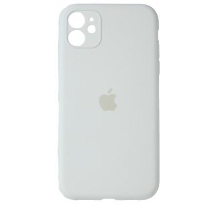 Чехол Silicone Case (С) 360 iPhone 11 белый