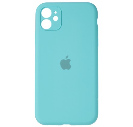 Чехол Silicone Case (С) 360 iPhone 11 бирюзовый