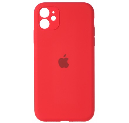 Чехол Silicone Case (С) 360 iPhone 11 красный
